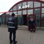 В Василеостровском районе снесли точку общепита