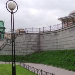 Фанат Кадырова станцевал лезгинку под Нарвскими воротами (видео)