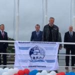 Александр Дрозденко поздравил Выборгский судостроительный завод